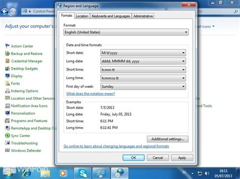 Cara Format Ebook Windows 7 | cara mengganti currency format di windows 7 winpoin