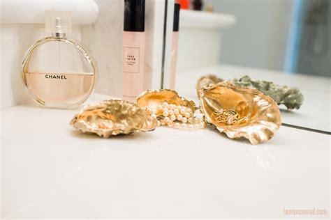 Beachy Bedroom Ideas inspired idea oyster shell trinket trays lauren conrad