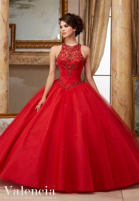 Quinceanera Dresses by Tulle Gown Quinceanera Dress Style 60008 Morilee