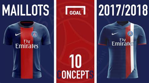Calendrier Psg 2017 18 Maillot Psg Domicile 2017 2018 Goal Concept Goal