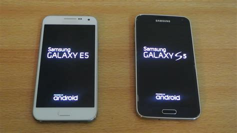 Samsung E5 samsung galaxy e5 vs samsung galaxy s5 which is faster