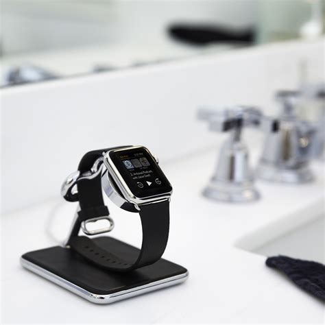 nightstand ls with usb twelve south fort 233 f 246 r apple watch lyxigt stativ och