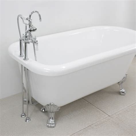 claw feet for bathtub hlfl59fpk 59 quot hotel collection classic clawfoot tub and