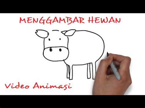 youtube tutorial menggambar hewan menggambar hewan gambar binatang kumpulan gambar youtube