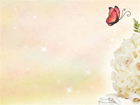 butterfly powerpoint template free butterfly and roses backgrounds for powerpoint