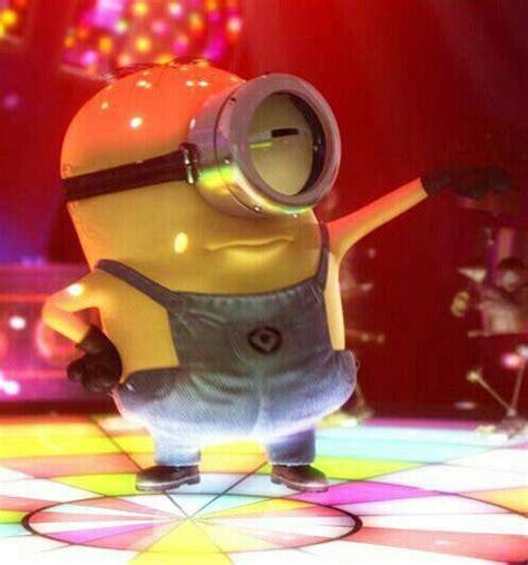 imagenes de minions zumba disco dancing minion minions pinterest minions