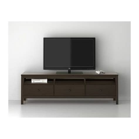 ikea hemnes media hemnes tv unit black brown