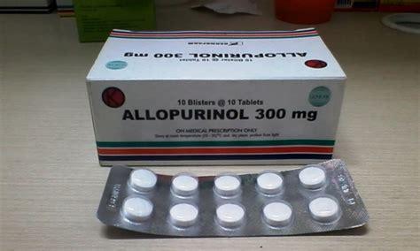 Obat Asam Urat Allopurinol obat allopurinol efek sing fungsi dan informasi