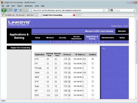 Modem Di Palembang membuat webserver dgn ip dinamis via dyndns kabar