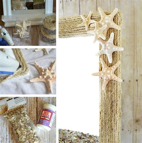 beach themed bathroom mirrors 10 awesome beach themed projects for a vacation like feel