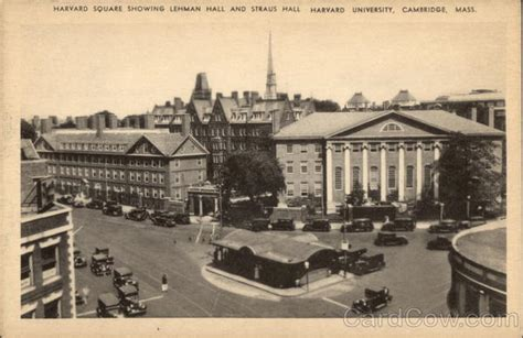 Post Office Harvard Square by Harvard Square Showing Lehman And Straus