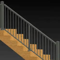 Aluminum Railings For Stairs Adjustable Angle Stair Rail Kit By Solutions Aluminum