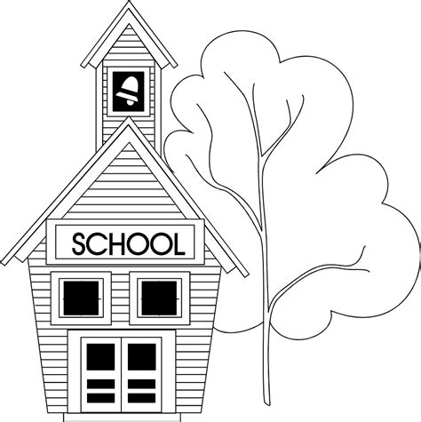 school clipart black and white elementary school building clipart black and white www