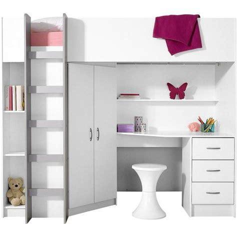 lit mezzanine 3 suisses lit mezzanine avec plan de travail armoire 233 tag 232 res