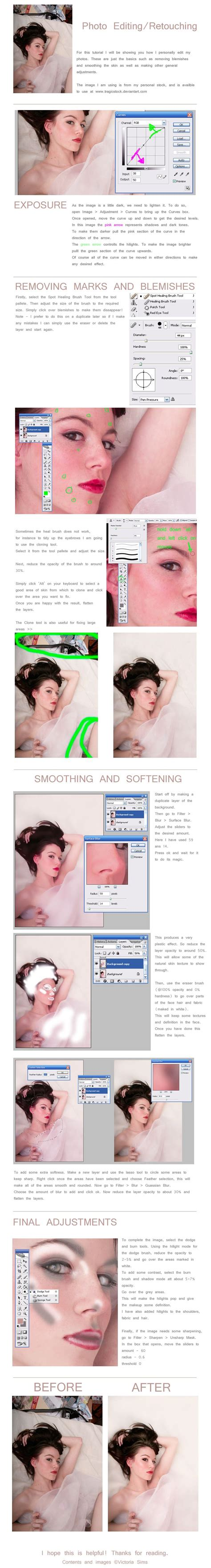 tutorial photoshop photo editing just a basic editing tutorial using adobe photoshop