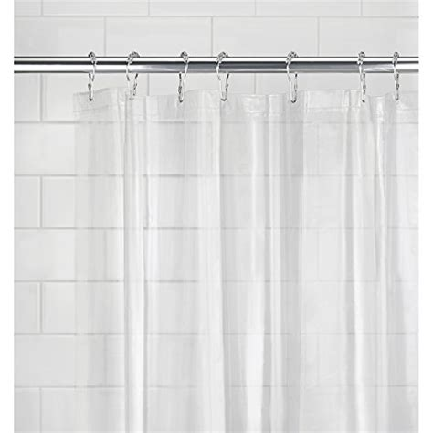 no mold shower curtain mdesign peva 3g shower curtain liner pack of 2 mold