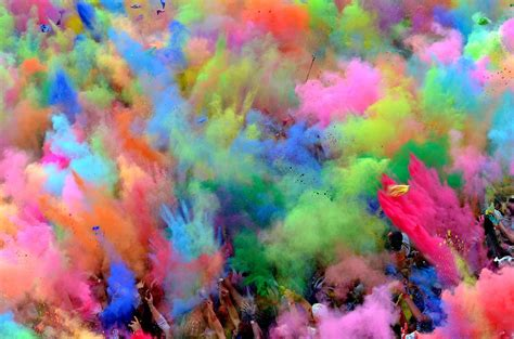 colorful colors holi fusion festival this is turin blog turin italy guide