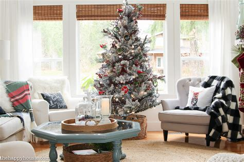 the living room tour classic christmas living room tour the happy housie