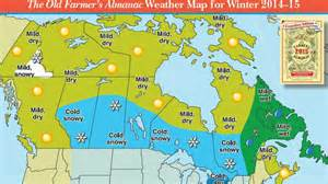 farmer s almanac weather forecast cold and snowy