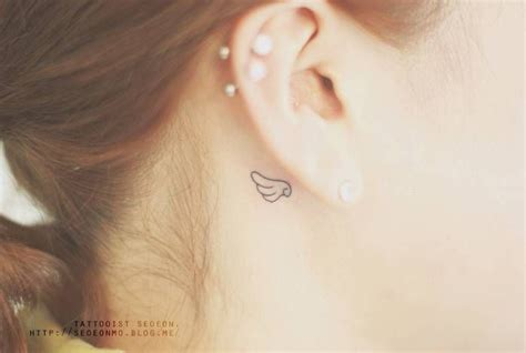 angel ear tattoo 1000 ideas about small wing tattoos on pinterest angel
