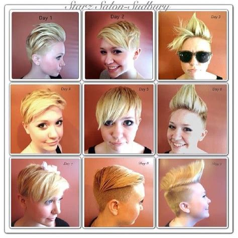 how to style a pixie cut different ways black hair different ways to style a pixie cut hairstyles and