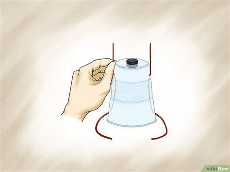 how to make a simple motor with a magnet wikihow build a simple electric motor