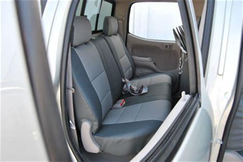 Leather Seats Toyota Tacoma Toyota Tacoma 2005 2011 Iggee S Leather Custom Fit Seat