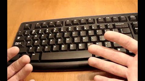 tutorial on keyboard typing typing tutorial keyboard basics youtube