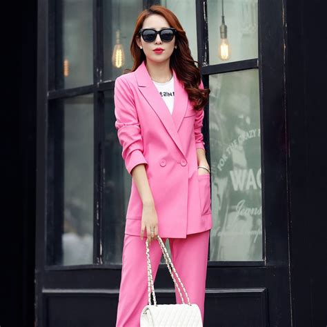 Maxi Dress Outer Wafell Pink 1170 womens pink pant suit go suits