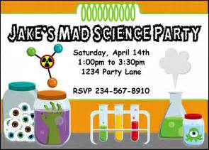 science invitations theruntime