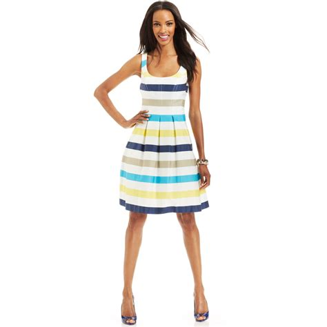 Wst 8722 Blue Pleated Dress blue sandals nine west dress