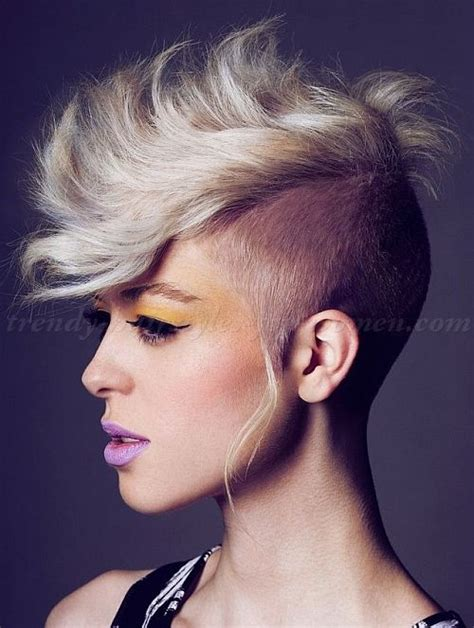 faux hawk hairstyle with sizes 396 best images about trendy quot hawk quot styles on pinterest