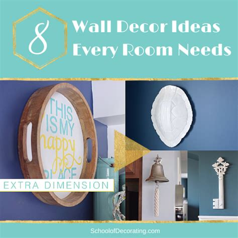 what every room needs 8 wall decor ideas every room needs teal and