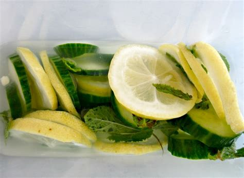 Cucumber Mint Lemon Detox Review by Fresh Start Start The New Year Right With This Detox