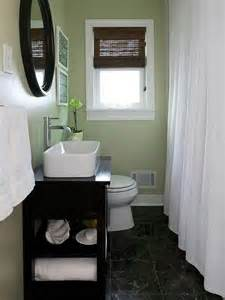 Ideas For Remodeling A Small Bathroom small bathroom design with light green walls black and white bathroom