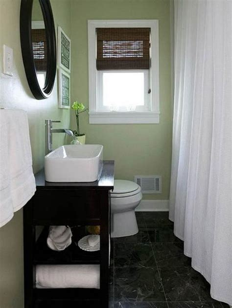 Color Ideas For A Small Bathroom | 25 bathroom remodeling ideas converting small spaces into
