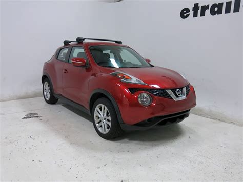 Nissan Juke With Roof Rack by Inno Aero Crossbars Aluminum Black 36 Quot And 39 Quot Qty 2 Inno Roof Rack Inxb93 100