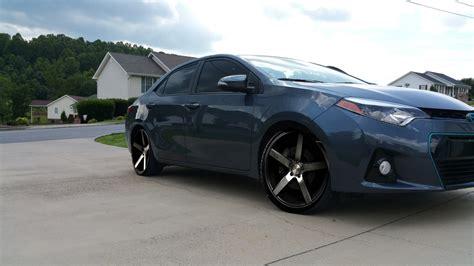 toyota corolla custom toyota corolla custom wheels niche milan 19x8 5 et 35