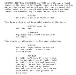 Stage Play Script Format Template by Need A Script Linux Journal
