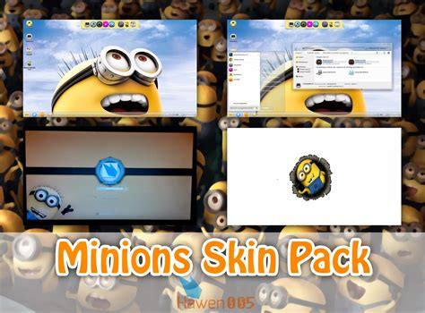 themes windows 10 minions minions skinpack for windows 7 windows10 themes i