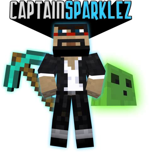 captainsparklez minecraft captainsparklez intro by proller17 on deviantart