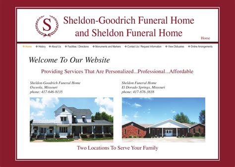 sheldon funeral home 28 images view obituary sheldon