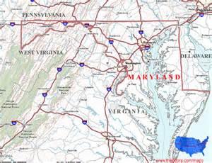 maryland maps