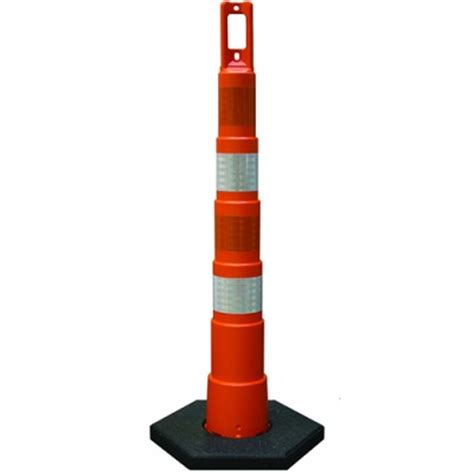 channelizer and delineator cones and posts for traffic safety
