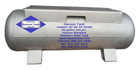 Raket Lining Hc 1550 80 gallon mount air tank hanson model carbon and