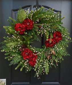 christmas wreaths for holiday decor beautiful christmas