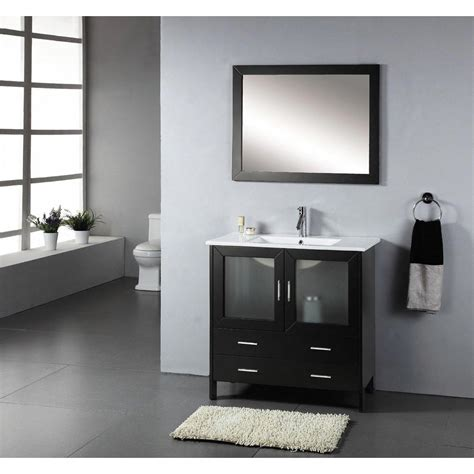 virtu usa bathroom vanity set in espresso free shipping ag