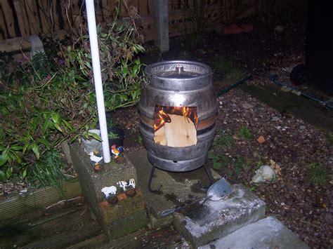 keg chiminea chimeneas popular woodworking magazine