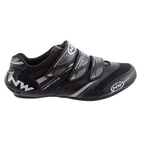 road bike shoe fit northwave vertigo pro road cycling shoe black size 47 ebay