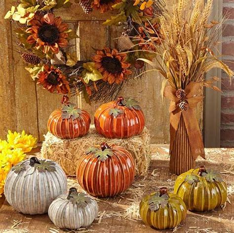 fall harvest decor from tuesday morning seektheunique